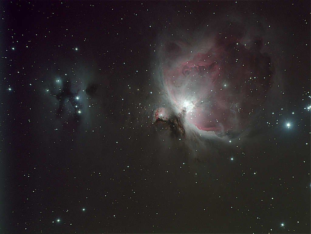 M42 NGC1977 FLT110 ST8300 by Ivor Lawrence